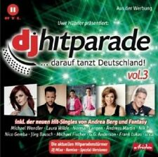 DJ ÖTZI/ANDREA BERG/JÜRGEN PETER/SIMONE/+ - DJ HITPARADE VOL.3  CD POP NEU