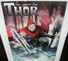 The Unworthy Thor Exclusive Large Promo Poster NEW MARVEL COMICS 2016 AVENGERS