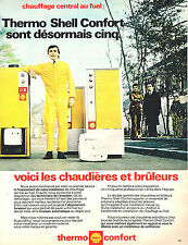 PUBLICITE ADVERTISING 014   1971   SHELL  thermo-confort   chaudières & bruleurs
