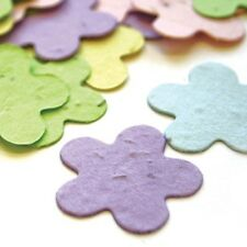 Pastel Assorted Mix 5 Petal Plantable Wildflower Seed Recycled Paper Confetti