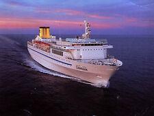 Postcard : COSTA ALLEGRA Cruise Ship / Ocean Liner - EuroLuxe Cruises