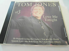 Tom Jones - Love Me Tonight / Cd 3 (CD Album) Used very good