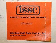 ISSC KANSON 1042 SP10 Timer + Programmer Module 1042-SP10