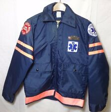 Vintage Inter-Canyon Rescue Squad Fire Department EMT Colorado Jacket 37R S/M