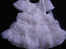 Ivory Communion Confirmation Bridesmaid Flower Girl Prom Pageant Party Dress 2-9