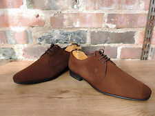 Tods Mens Brown Suede Shoes worn once Quality Italian made UK 7 US 8 EU 41