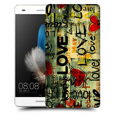 CUSTODIA COVER  per HUAWEI ASCEND  P8 LITE TPU BACK CASE SENTIMENTAL GRAFFITI