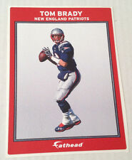 "Tom Brady Passing Patriots FATHEAD Small Ad Panel Poster 6""x4"" NFL Wall Graphics"