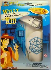 Edison Giocattoli - Pistolet 13 coups à pétards - coffret Willy the Kid cow boy