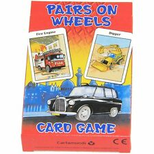 BNIP PAIRS ON WHEELS card game Made in Belgium