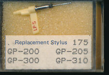 """""""AIGUILLE record needle PICK-UP REPLACEMENT STYLUS 175GP-200 GP-205 GP-300GP-310"""