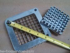 """New listing French Fry Cutter 1/4"""" Blade & Pusher Set Stainless Steel Blade & Pusher Only"""