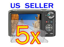 5x Canon PowerShot SX260 HS Camera LCD Screen Protector Cover Guard Shield