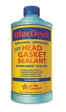 38386 Blue Devil Head Gasket Sealent Permanent Sealer 32 oz