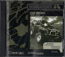 1999-2000 BOMBARDIER ATV-VTT SERVICE,PARTS,OWNERS on CD ROM 704 700 047 (944)
