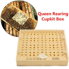 Queen Rearing Cupkit Box  Match-box Moving Bee Catcher Cage Beekeeping Tool