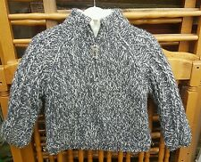 Gorgeous FAT FACE Boys Chunky Knit Half Zip Jumper, Age 3 Years*