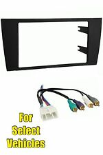 97-98 Lexus ES300 Double Din Car Stereo Radio Dash Install Kit + Wire Harness
