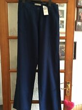 Navy Blue Size 8 Wide Leg Size 8 Long Marks & Spencer Bnwt