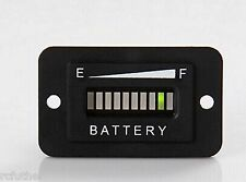 Golf Cart 36V Battery Charge Meter Club Car Yamaha,EZGO Panel Mount  generic