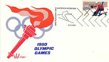 US Cover XIII Winter Olympics Lake Placid 1980 - US 8127