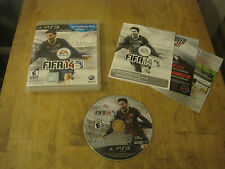 FIFA 14 - Sony Playstation 3 PS3 - Game, Case, & Manual