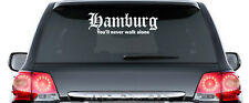 HAMBURG You'll never walk alone - Aufkleber - ca. 60 cm lang - TOP