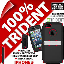 New Trident Kraken AMS Protective Heavy Duty Hard Case Rugged for Apple iPhone 5