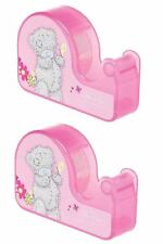 Me to You - 2x Pink Tape Desk Dispenser Sellotape Twin Pack - Tatty Teddy Bear