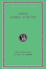 Greek Iambic Poetry: From the Seventh to the Fifth Centuries B.C. (Loe-ExLibrary