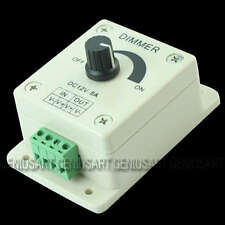 Brightness Controller Dimmer Regulator for LED Bulb Light Stripe 12V 8A