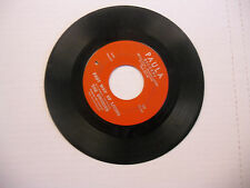UNIQUES Not Too Long Ago/Fast Way Of Living 45 RPM Paula Records VG-