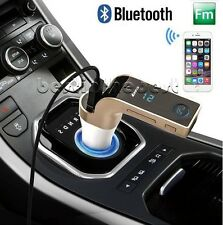 Bluetooth Car Kit MP3 Player FM Transmitter SD USB Charger For iPhone Samsung