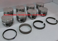 Speed Pro/TRW Ford/Mercury 351C Forged Coated Flat Top Pistons+RACE Ring Kit +30