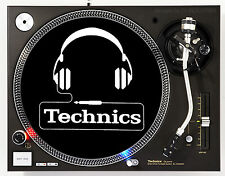 TECHNICS HEADPHONES - DJ SLIPMATS (1 PAIR) 1200's or any turntable