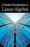 A Modern Introduction to Linear Algebra by Henry Ricardo Hardcover Book (English