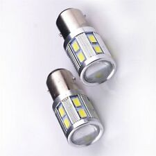 2x 9W 5630 12LED S25 1157 BAY15D Brake/Tail/Bakeup Light Lamp Dual Color Bulbs