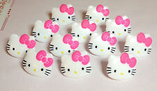 Cake Decorating Cupcake Toppers Rings - Hello Kitty Heads