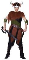 Adult Mens 6 Piece Nordic Viking Historical Fancy Dress Costume Outfit