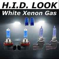 H11 H9 55w/65w White Xenon HID Look High Low Fog Beam Headlight Bulb Pack