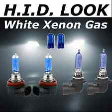 H11 H9 55w/65w White Xenon HID Look High Low Fog Beam Headlight Bulb Pack