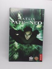 Matrix Path of Neo Manual de instrucciones ps2 playstation 2