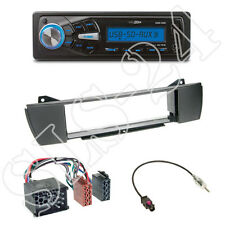 Caliber RMD055 USB/SD Radio + BMW Z4 E85/E86) + 1-DIN Blende black +ISO-Adapter