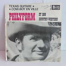 PHILYFORM et son country western Texas guitare ... MONDE MELODY MM5005