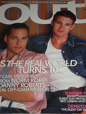 REAL WORLD Gay Cast Members Out Magazine July 2001 MICHAEL PITT
