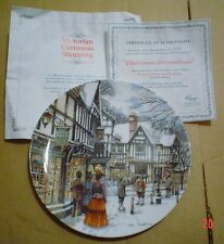 Royal Doulton Collectors Plate CHRISTMAS DECORATIONS