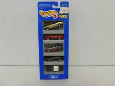 Hot Wheels 5 Car Gift Pack Ford w/Mustang Convertible Error Pack 251
