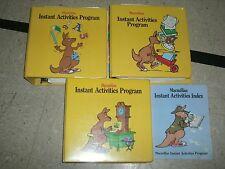 Macmillan Early Skills INSTANT ACTIVITIES PROGRAM 23 Categories-3 Huge Binders