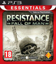 Essentials Resistance Fall Of Man PS3 Playstation 3 IT IMPORT