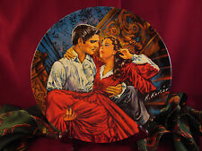 """SCARLETT and RHETT THE FINALE"" Gone with the Wind Knowles  PLATE ONLY"